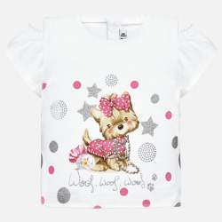 Mayoral T-shirt with puppy