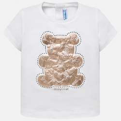 Mayoral T-shirt with bear