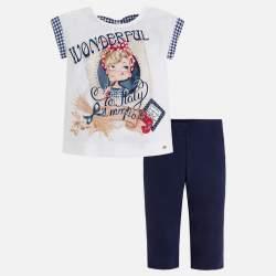 Mayoral T-shirt + leggings