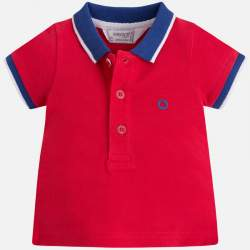 Mayoral red piqué T-shirt