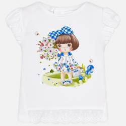 Mayoral T-shirt with girl