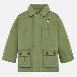 Mayoral thin green jacket