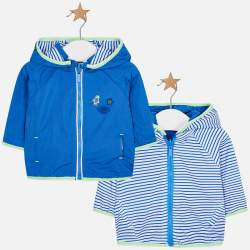 Mayoral blue wind jacket