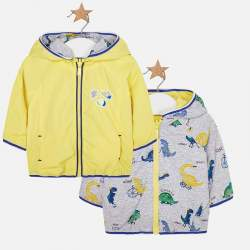 Mayoral yellow wind jacket