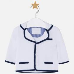 Mayoral BABY white suit