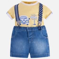 Mayoral T-shirt + jeans short