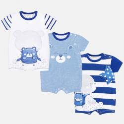 Mayoral baby rumper set with bear
