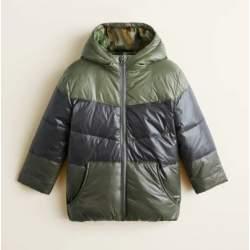 Mango green jacket