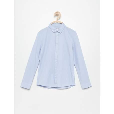 Reserved blue shirt
