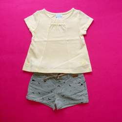 Obaibi T-shirt + Zara short