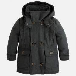 Mayoral hooded cloth coat