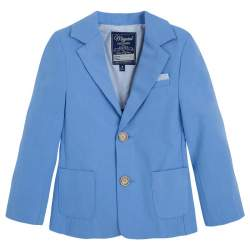 Mayoral blue suit jacket