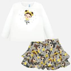 Mayoral pullover + skirt