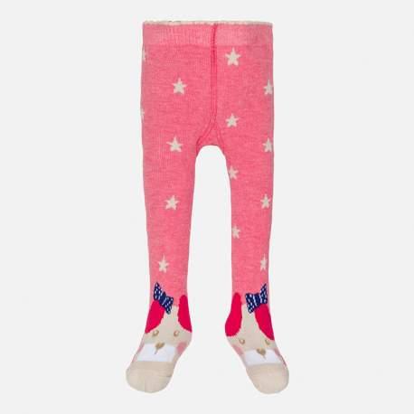 Mayoral pink stockings