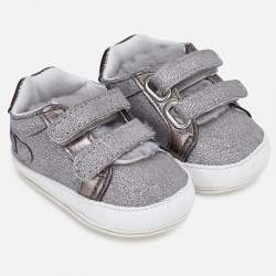 Mayoral BABY silver shoes