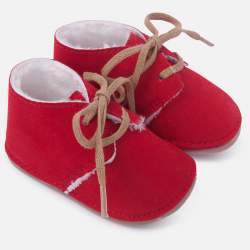 Mayoral red BABY shoes
