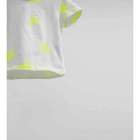 """ZARA """"BEACH"""" white T-shirt"""