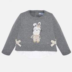 Mayoral pullover with bunny