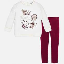Mayoral sweatshirt leggings set