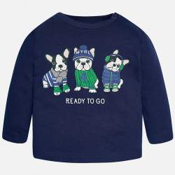 Mayoral long sleeve T-Shirt wih dog