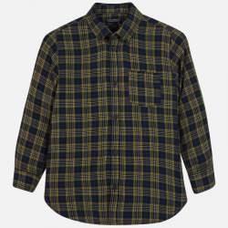 Mayoral/Nukutavake checkered shirt