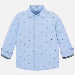 Mayoral blue shirt