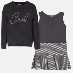 Mayoral cool szürke pulóver + ruha