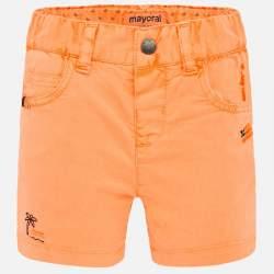 Mayoral narancssárga vászon rövidnadrág