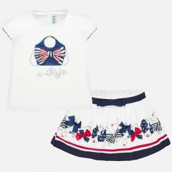 Mayoral T-shirt + skirt