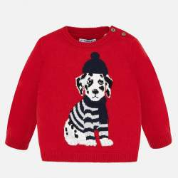 Mayoral knitted pullover with dog