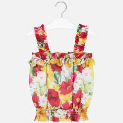 Mayoral blouse with flowers