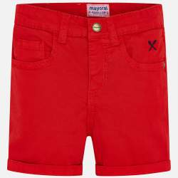 Mayoral piros vászon rövidnadrág
