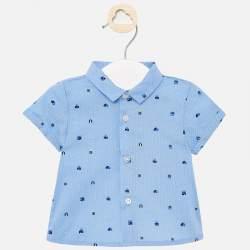 Mayoral blues shirt