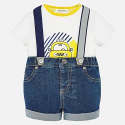 Mayoral T-shirt + shorts