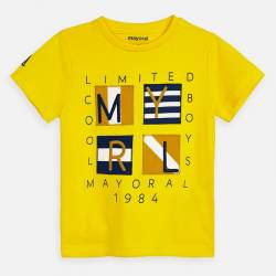 Mayoral yellow T-shirt