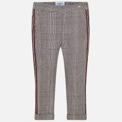 Mayoral checkered trousers