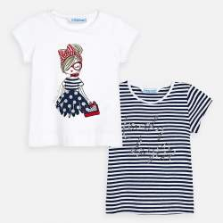 Mayoral T-shirts set