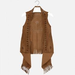 Mayoral brown indian vest