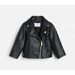 Reserved bőrhatású motoros dzseki