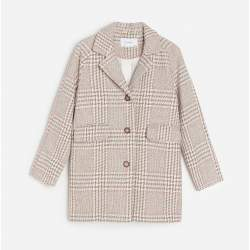 Reserved checkered coat