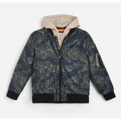 Reserved bomber coat