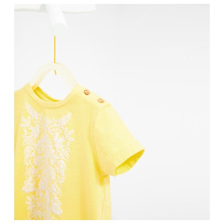 ZARA yellow T-shirt