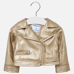 Mayoral bronz BABY műbőr kabát