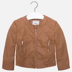 Mayoral barna műbőr kabát