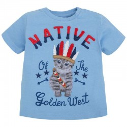 Mayoral T-shirt with cat