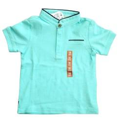 ZARA elegáns kék póló
