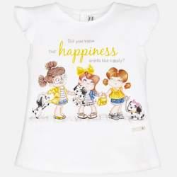 Mayoral T-shirt - happyness
