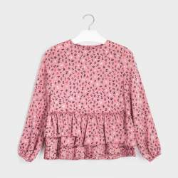 Mayoral blouse with alphabets