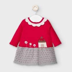Mayoral házikós piros ruha