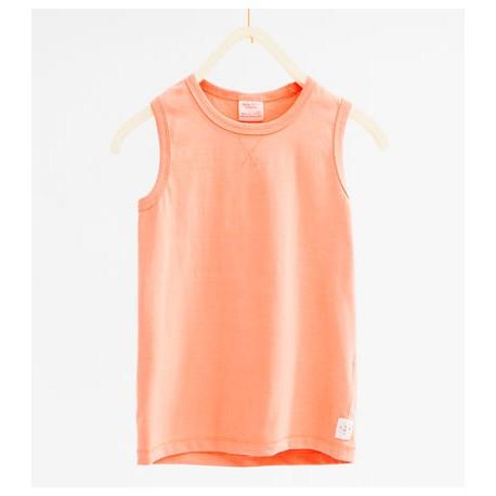 84f58f69b1fd5 ZARA orange vest top